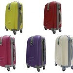 Valise cabine rigide JustGlam-bagages--main-Ormi-6802-Trolley-ABS-polycarbonate-4-roues-motrices-approprie-pour-vols-low-cost-0