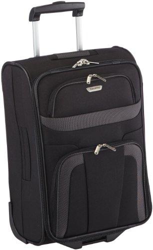 Valise cabine Travelite-Orlando-souple Valise--roulettes-Noir-37-x-53-x-20-cm-37-l-0