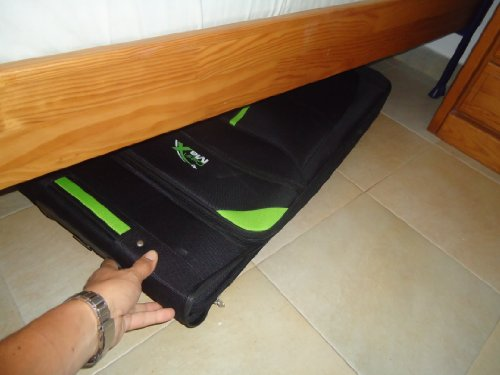 grand sac pliable Cabin-Max-Global-Large-bagage-roulettes-leger-et-pliant-107L-0-2