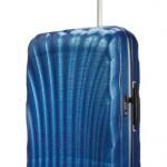 Valise Samsonite Cosmolite Curv bleu spinner 75-cm-94-litres