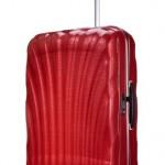 Valise Samsonite Cosmolite Curv rouge spinner 75-cm-94-litres