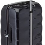 Valise Samsonite Engenero noire Spinner 75cm 100L trolley retractable
