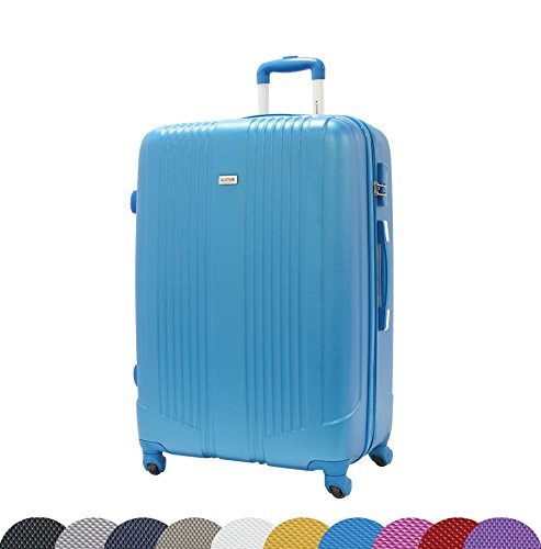 grande-Valise-ALISTAIR-Airo-75cm-ABS-ultra-Leger-4-roues-Garantie-2-ans-Bleu