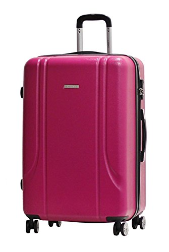 Valise-Alistair-Smart-grande-taille-Rose