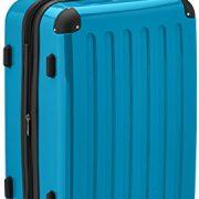 valise HAUPTSTADTKOFFER Alex 65 cm 74 litres bleu cyan Brillant