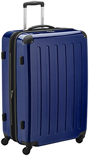 valise HAUPTSTADTKOFFER Alex 75 cm 119 litres Bleu fonce Brillant