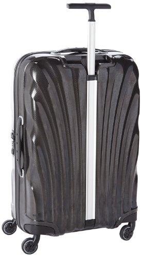bagages de voyage valise samsonite cosmolite 69cm noire 68. Black Bedroom Furniture Sets. Home Design Ideas