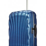 Valise Samsonite Cosmolite 69cm bleue fonce Dark Blue 68 litres