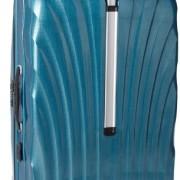 Valise Samsonite Cosmolite 81cm 123 litres vert emeraude poignee retractable