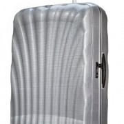 Valise Samsonite Cosmolite 86cm argent 144 litres Silver