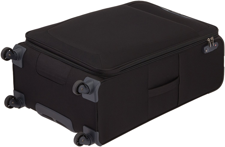 bagages de voyage valise samsonite base de hits noire 4. Black Bedroom Furniture Sets. Home Design Ideas