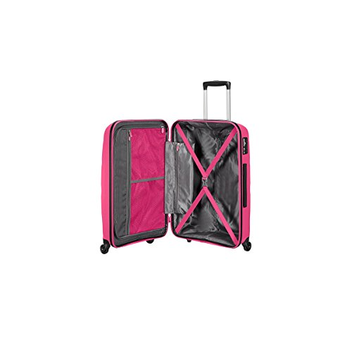 Valise American Tourister Bon Air 66 cm 53 L rose interieur
