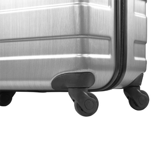 Valise American Tourister Pasadena silver 4 roulettes