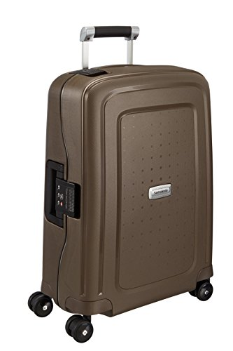 Samsonite Valise cabine S'Cure DLX Metallic Bronze 34 L