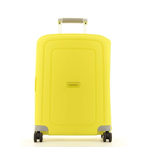 bagages de voyage valise cabine samsonite s 39 cure jaune bagages de voyage. Black Bedroom Furniture Sets. Home Design Ideas
