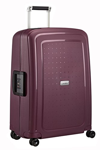 Valise Samsonite S'Cure DLX bordeaux TSA