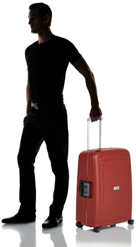 Valise Samsonite S'Cure DLX 69cm rouge