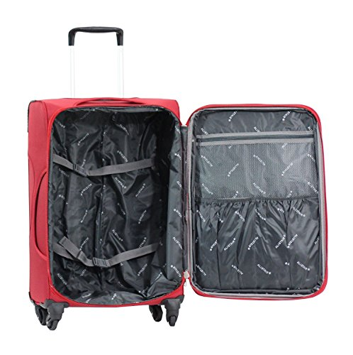 Valise Alistair plume 75 cm interieur