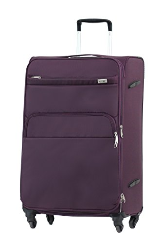 Valise Alistair plume 75 cm violet