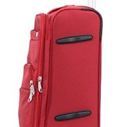 Valise cabine Alistair Plume toile nylon ultra legere