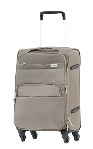 Valise cabine Alistair Plume argent