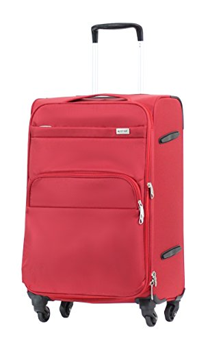 Valise Alistair Plume 65 cm rouge