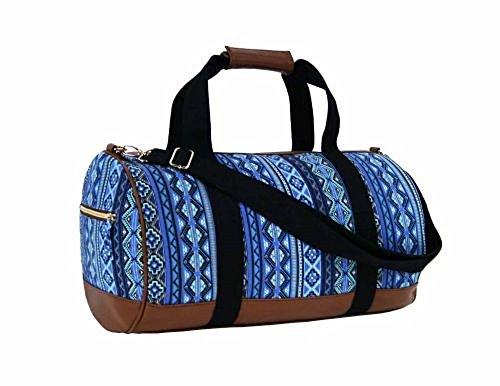 Sac Jazzi bleu motif azteque
