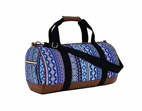 Sac Jazz violet motif azteque