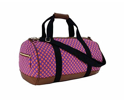 Sac Jazz violet motif papier peint