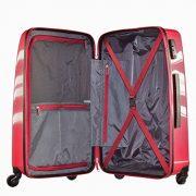 Set de trois valises American Tourister Waverider interieur pratique