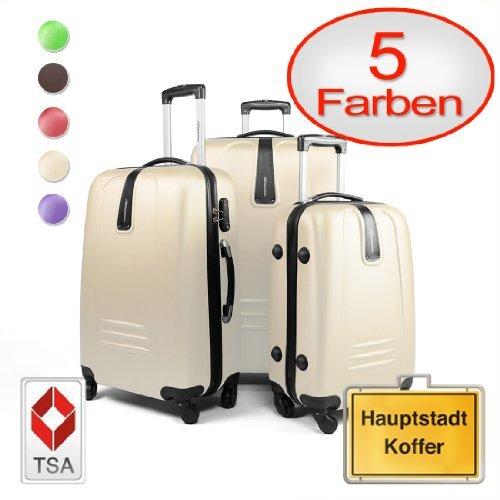 HAUPTSTADTKOFFER--Sets-de-bagages--4267103-liters--Serrure-TSA--en-diffrentes-couleurs-0