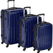 HAUPTSTADTKOFFER-Alex-Ensemble-de-3-Valises-Rigides-Bleu-fonc-Brillant-TSA-S-M-L-235-litres-0