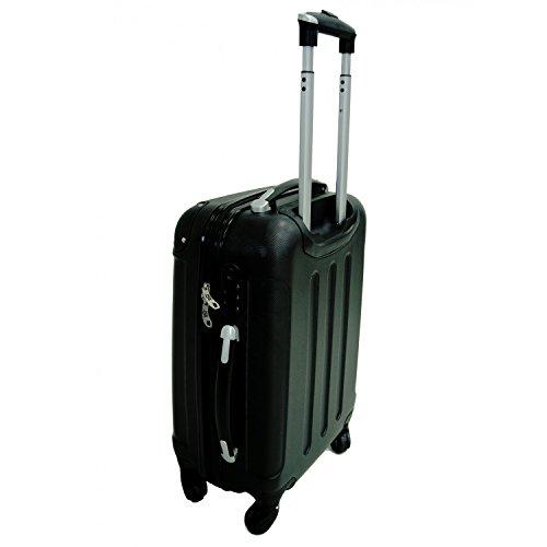 lot de trois valises trolley roulettes