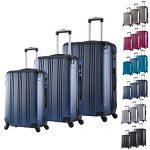 Set de valises WOLTU M L XL bleu