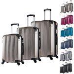 Set de valises WOLTU XL L M champagne