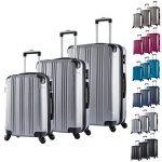 Set de valises WOLTU argent M L XL