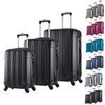 Set de valises noires WOLTU