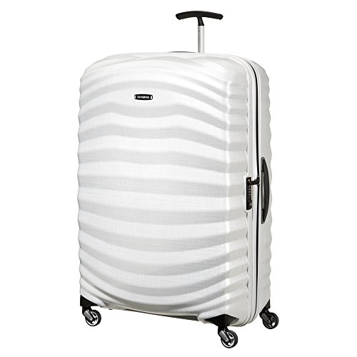 Valise rigide Curv Samsonite Lite Shock 69 cm - 4 roues Off White blanc