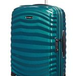 Valise cabine Samsonite Lite Shock bleue