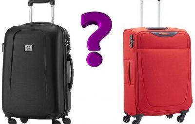 Comment choisir une valise rigide ou valise souple